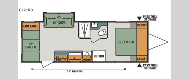 Connect C221RD Floorplan