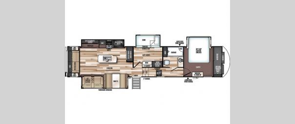 Wildwood Heritage Glen 369BL Floorplan