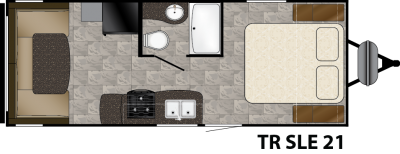 Trail Runner 21JM Floorplan