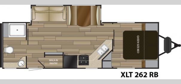 Sundance XLT 262RB Floorplan