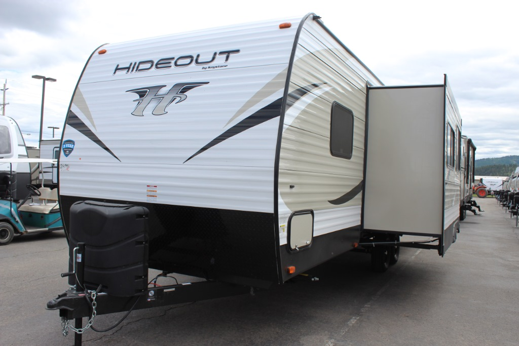 New 2019 Keystone Rv Hideout 26lhs Travel Trailer At