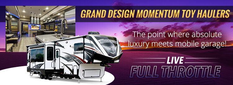 Grand Design Momentum Toy Haulers