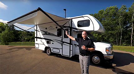 East To West Entrada Class C RV Video