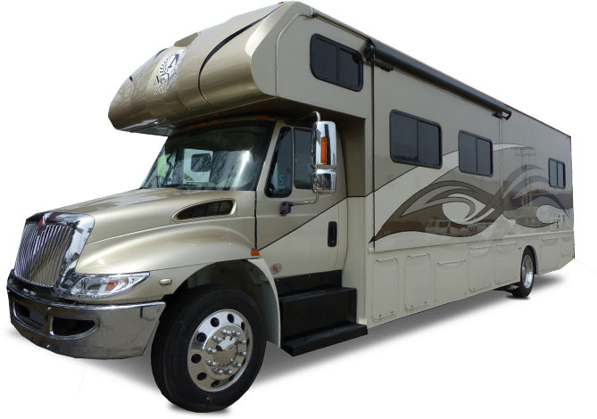 NeXus RV Wraith Motor Home Super C - Diesel
