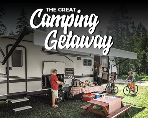The Great Camping Getaway!