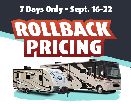 Rollback Pricing!