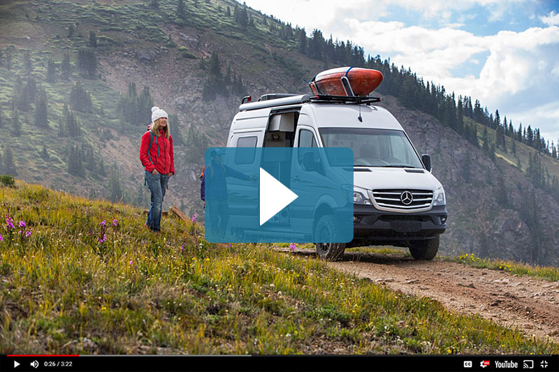 Winnebago Revel Camper Van Video
