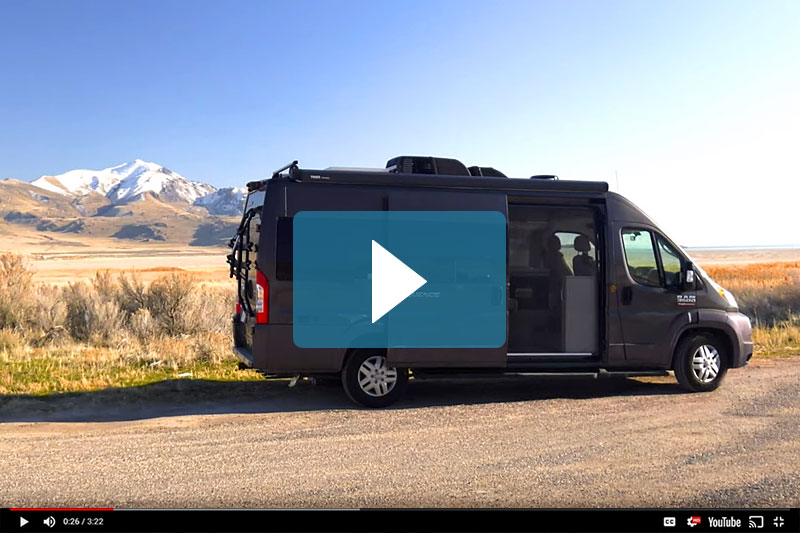 Thor Sequence Camper Van Video