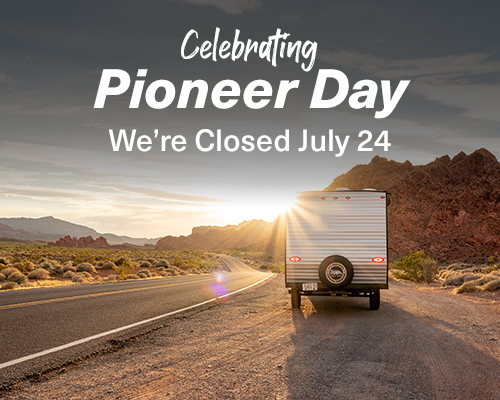 Closed For Pioneer Day