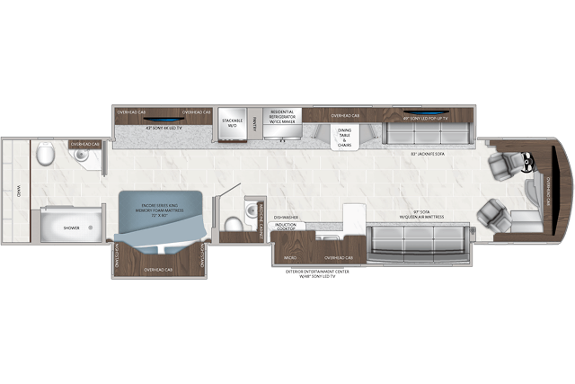 Dream 45A floorplan
