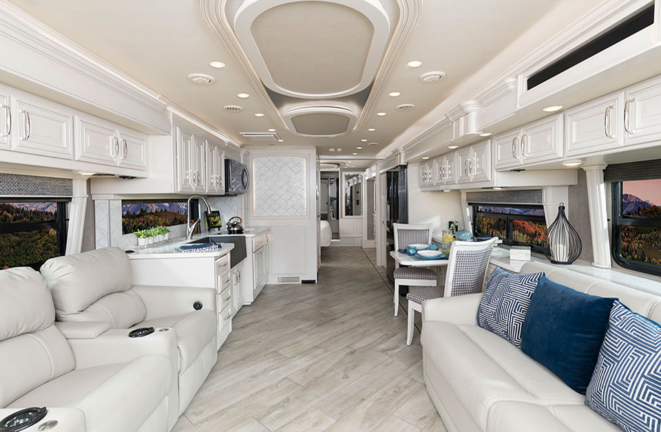 American Coach Dream Class A Motorhome Interior