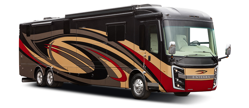 Entegra Insignia luxury diesel class a motorhome exterior photo