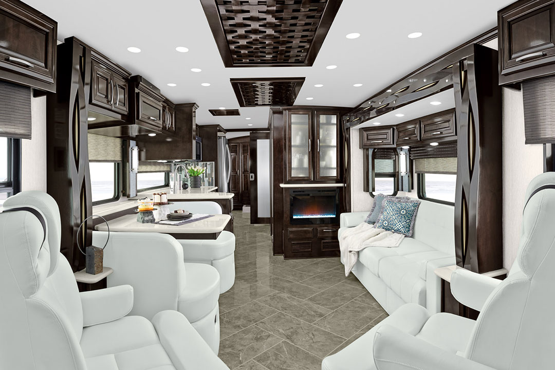 Newmar New Aire Class A Motorhome Galley