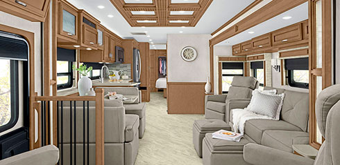 Newmar Canyon Star Class A Motorhome Image Gallery