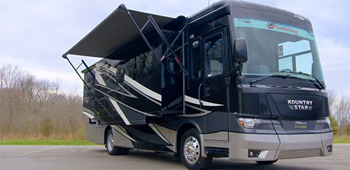 Newmar Kountry Star Sport Class A Motorhome Video
