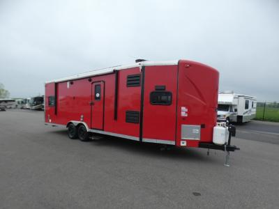 Used Toy Hauler Travel Trailers