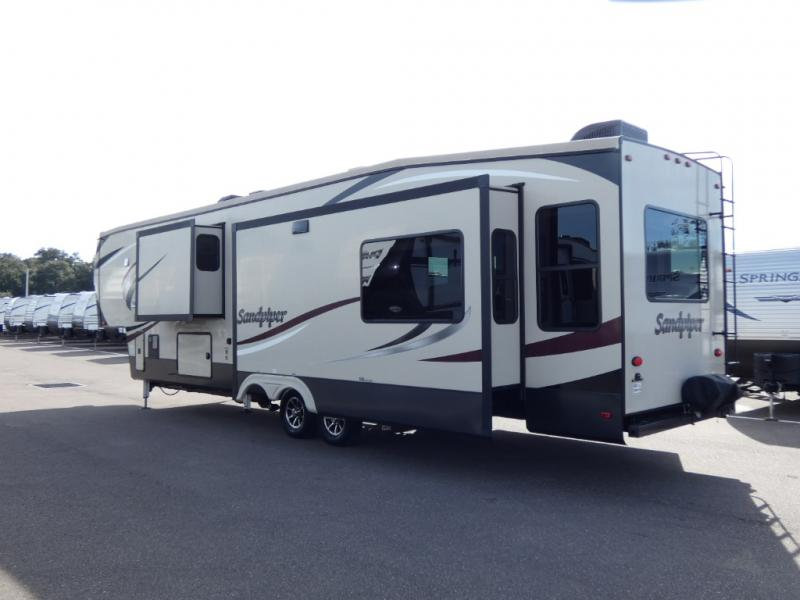 Used 2018 Forest River Rv Sandpiper 378fb Fifth Wheel At