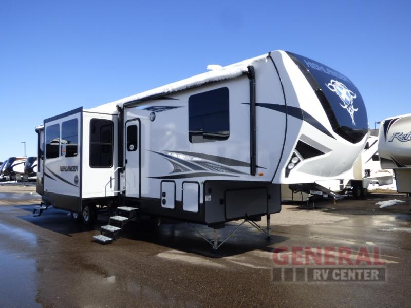 New 2018 Highland Ridge Rv Highlander Hf350h Toy Hauler