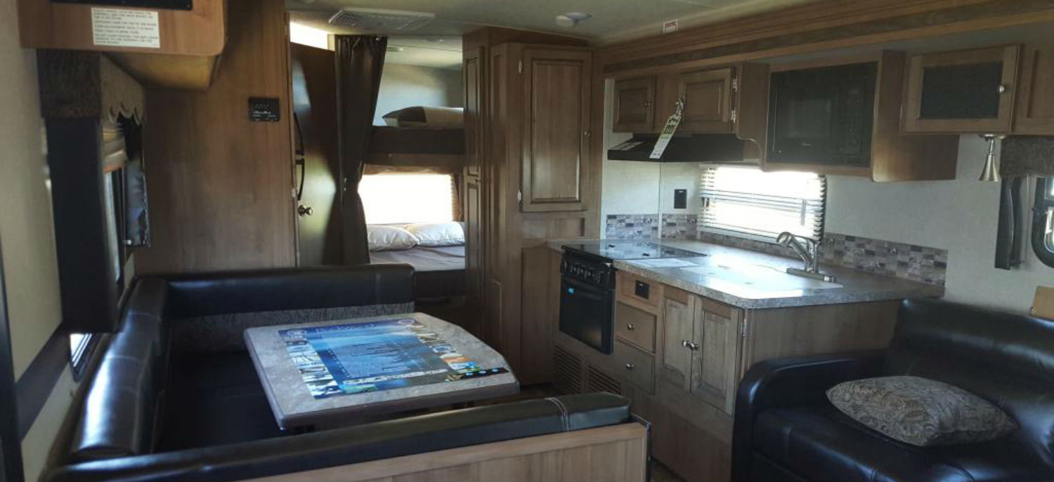 Forest River Rockwood Ultra Lite RV Interior