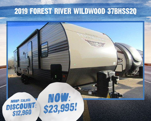 2019 Forest River Wildwood 37BHSS2Q