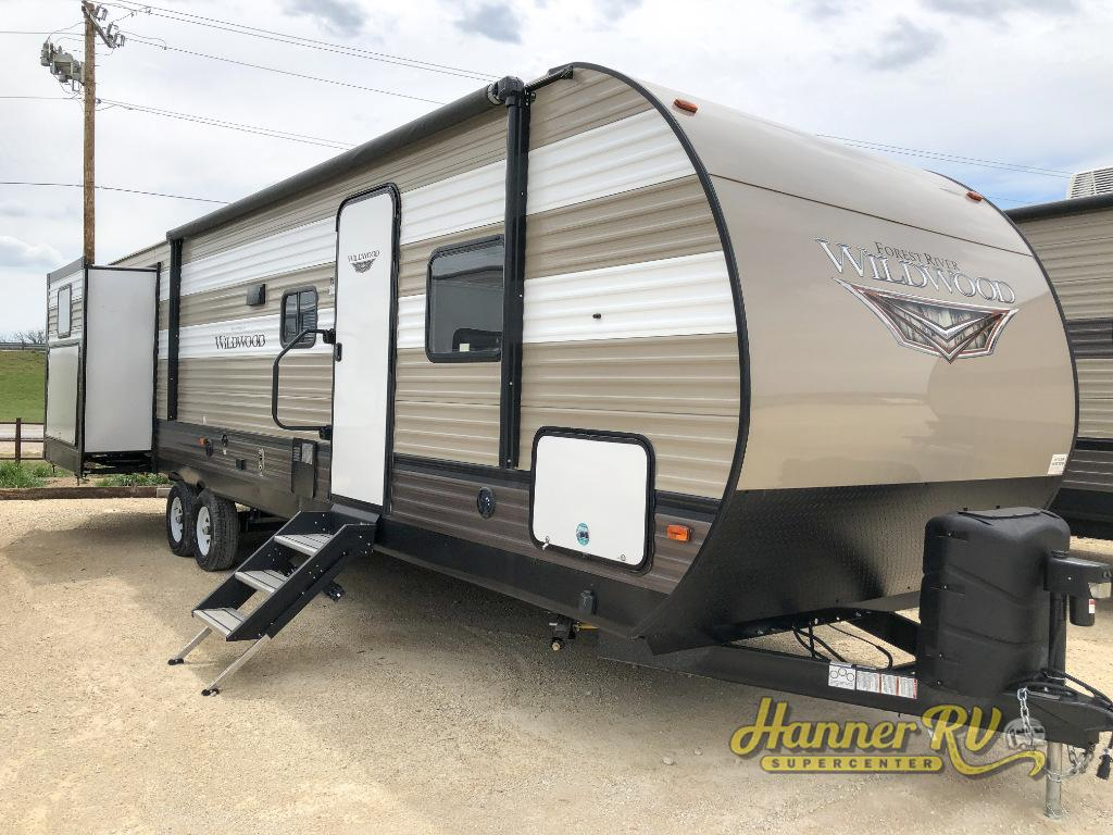 New 2019 Forest River RV Wildwood 31KQBTS Travel Trailer at