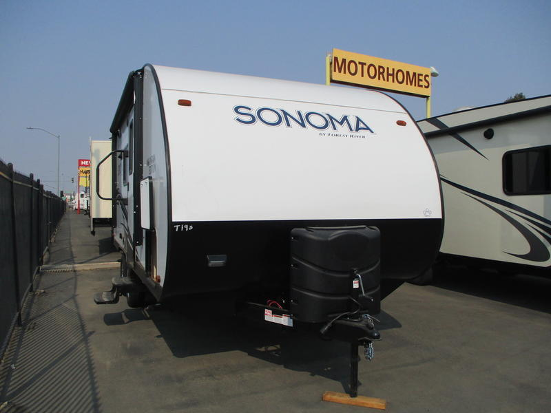 New 2019 Forest River RV Sonoma 190MB Travel Trailer at