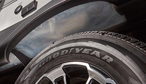American-made Goodyear Tires