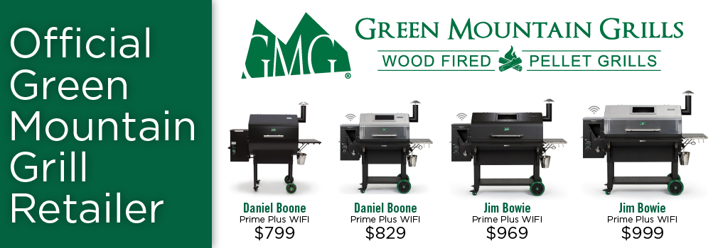 Green Mountain Grill Banner