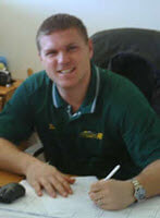 Tom Robson, Sales Manager
