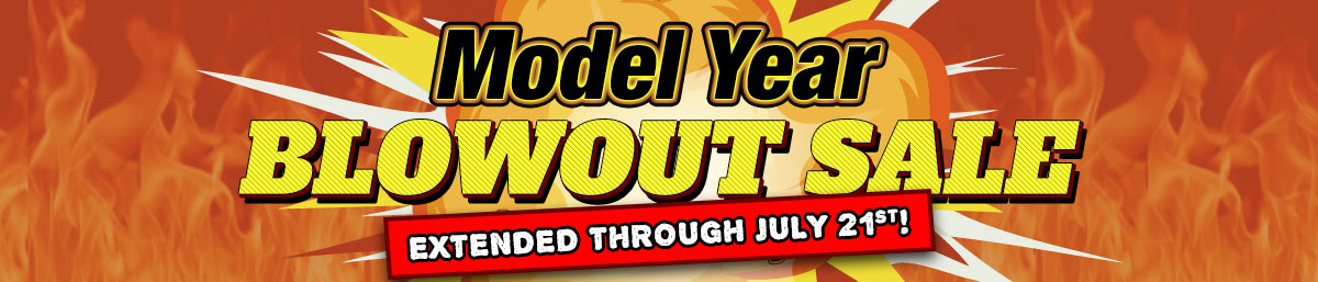 Model Year Blowout Extended