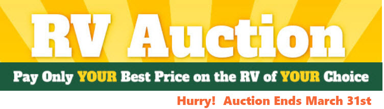 RV Auction Ends March 31st.