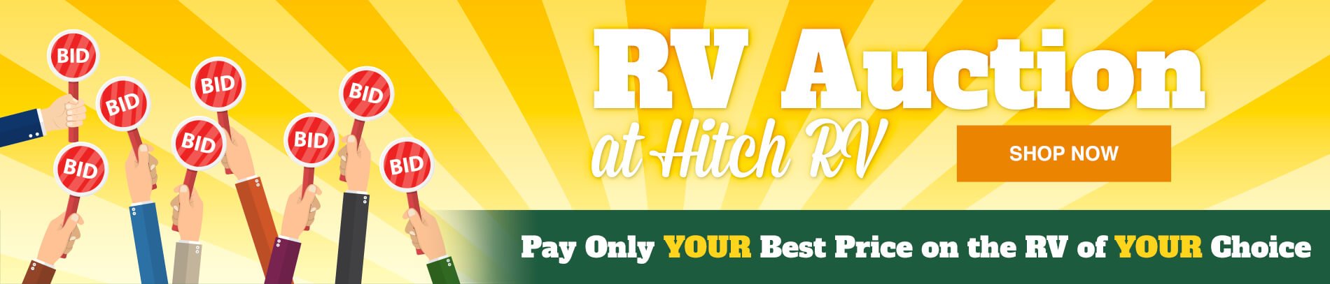 Rv Auction at Hitch RV