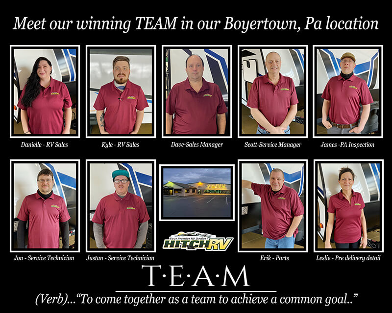 Meet our winning TEAM in our Boyertown, PA location.