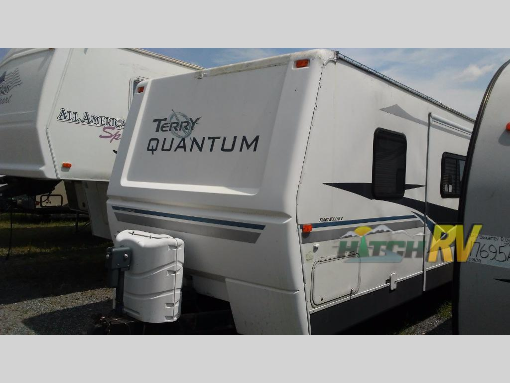 Used 2008 Fleetwood Rv Terry 30rb Travel Trailer At Hitch