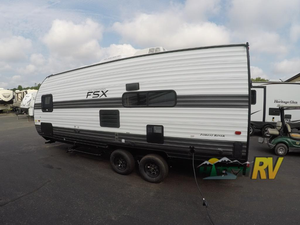 New 2020 Forest River RV Wildwood FSX 190RT Toy Hauler