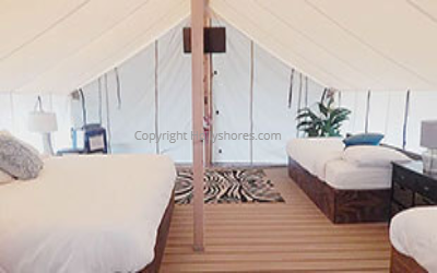 safari glamping tents
