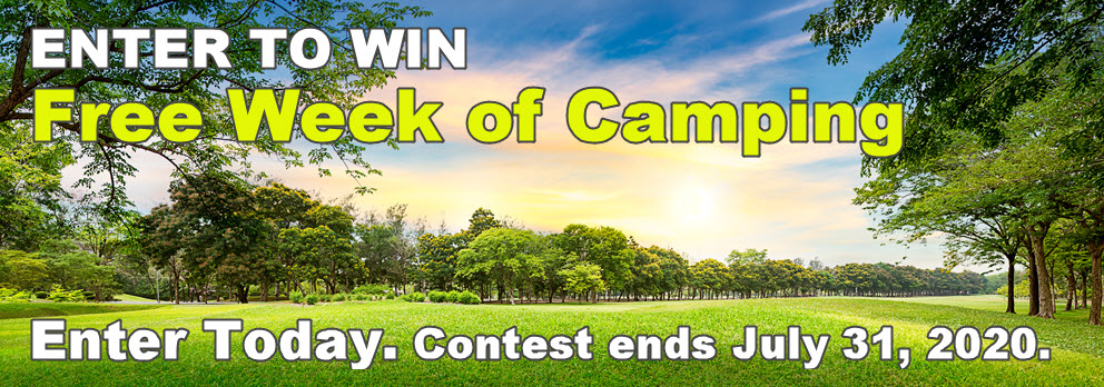 Win A Week of Camping