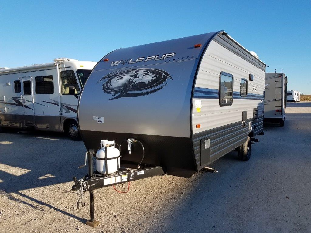 New 2019 Forest River Rv Cherokee Wolf Pup 16fq Travel