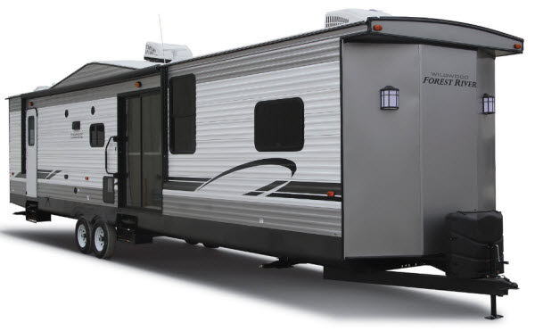 Forest River RV Wildwood DLX Destination Trailer