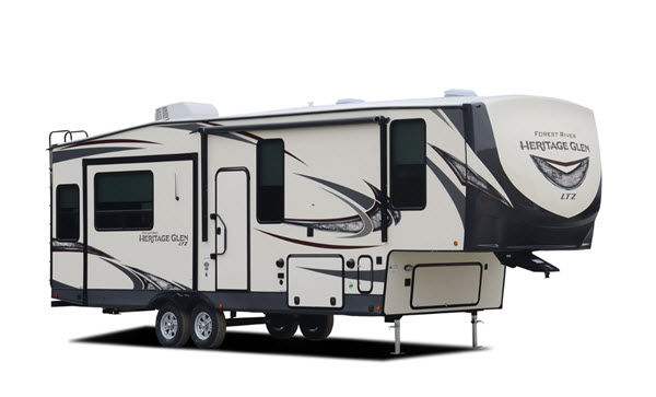 Forest River RV Wildwood Heritage Glen LTZ Fifth Wheel