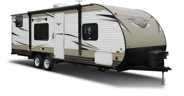 Forest River RV Wildwood X-Lite Toy Hauler Travel Trailer