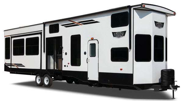 Forest River RV Wildwood Grand Lodge Destination Trailer