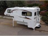 Bigfoot 1500 Series Truck Camper Stock Photo