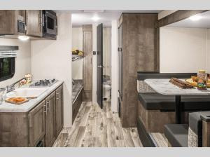 Inside - 2019 Escape E161RB Travel Trailer
