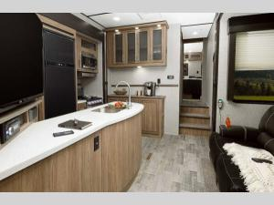 Inside - 2019 Endurance 3586 Toy Hauler Fifth Wheel