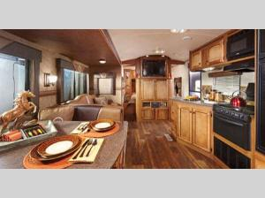 Inside - 2017 Hill Country HCT33RE Travel Trailer