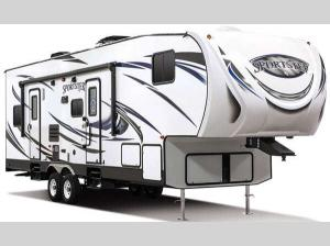 Outside - 2017 Sportsmen Sportster 265TH Toy Hauler Fifth Wheel
