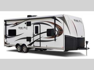Outside - 2017 Work and Play Ultra Lite 25ULA Toy Hauler Travel Trailer