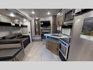 Inside - 2018 Puma Unleashed 359-THKS Toy Hauler Fifth Wheel