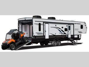 Outside - 2018 Puma Unleashed 359-THKS Toy Hauler Fifth Wheel